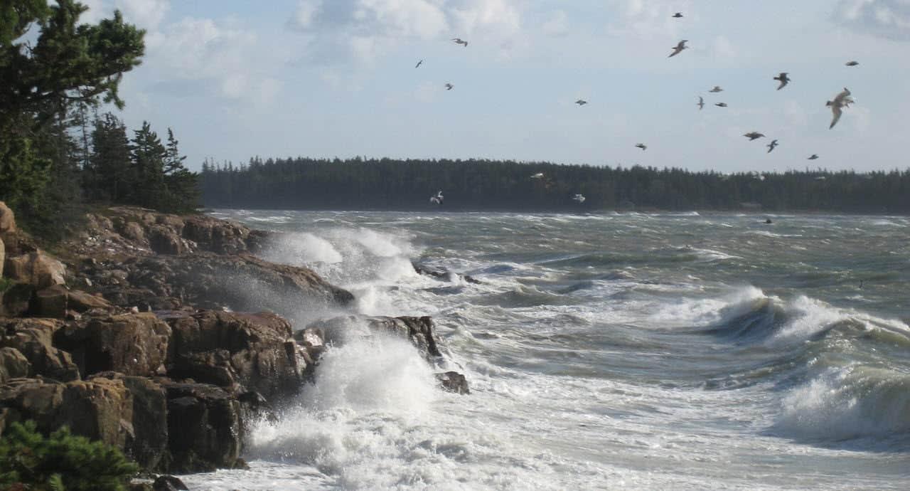 ocean after storm